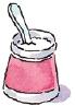 carton of yogurt
