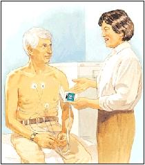 Image of patient undergoing procedure