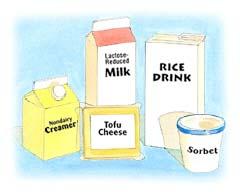 Image of nondairy substitutes