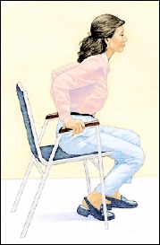Image of woman in chair