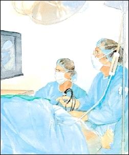 Patient undergoes procedure